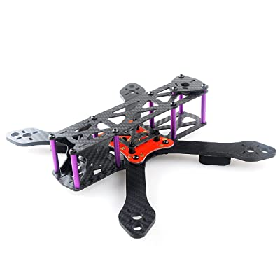 Martian II RX220 FPV Racing Drone Carbon Fiber Quadcopter Frame Like QAV210 etc (4MM) by Crazepony: Electronics