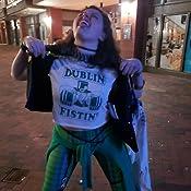 316488e71e7c91 St Paddys Day Crop Top Dublin Fistin Sexy St Patricks Day Shirt ...