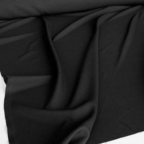 Tolko Modestoff Dekostoff Universal Stoff Zum Nähen Dekorieren Blickdicht Knitterarm 150cm Breit Meterware Schwarz Bekleidungsstoffe Dekostoffe Vorhangstoffe Nähstoffe Basteln Patchwork Deko Küche Haushalt