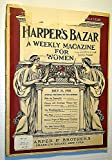 img - for Harper's Bazar (Bazaar) - A Weekly Magazine for Women, July 21, 1900 - Chines and American Women Contrasted book / textbook / text book