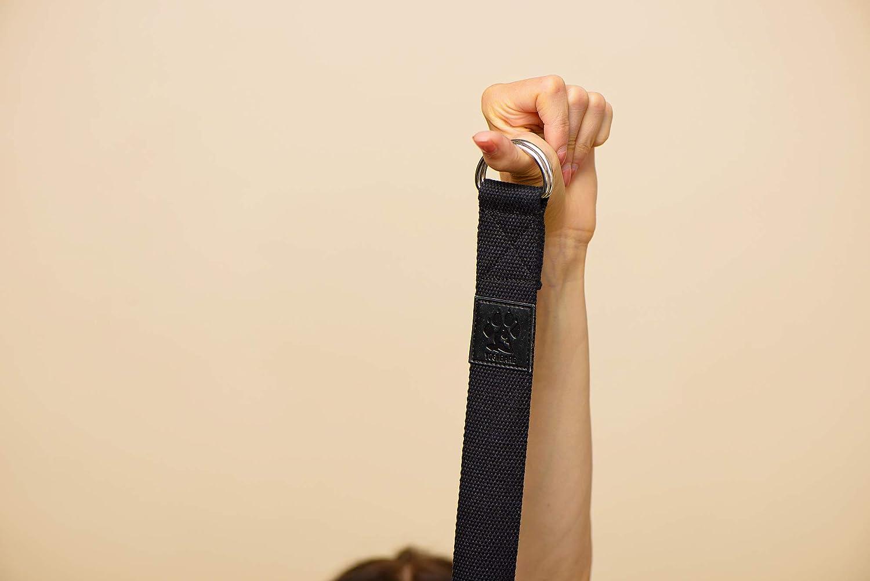 Yogi Bare Correa de Yoga - Cinturón de Estiramiento para ...