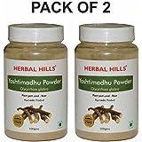 Herbal Hills Yashtimadhu Powder - 100 g (Pack of 2)
