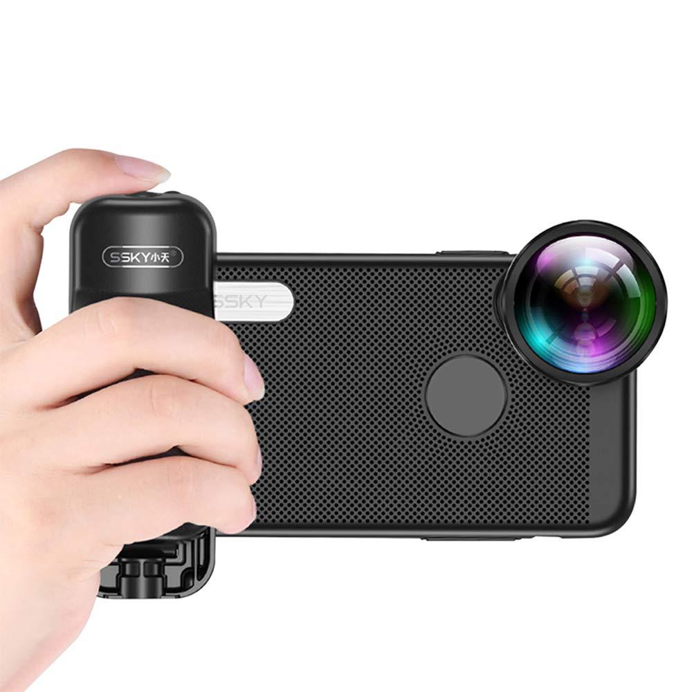 Docooler Adjustable Zoom Portable BT Selfie Booster Anti-Shake Hand Grip Selfie Video with 1//4 Inch Screw Hole for iPhone Samsung Huawei Xiaomi Filmmaker
