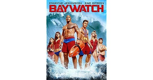 Amazon.com: Baywatch: Dwayne Johnson, Zac Efron, Alexandra Daddario ...