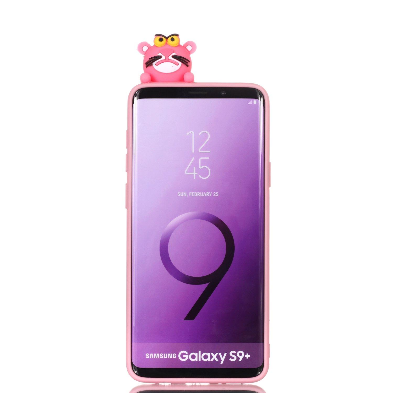 HUDDU Compatible for Samsung Galaxy S9 Plus Xmas H/ülle Blau Transparente Weihnachten Schutzh/ülle TPU Silikon Back Cover D/ünn Protective Case 3D Karikatur Christmas Samsung Galaxy S9 Plus Einhorn