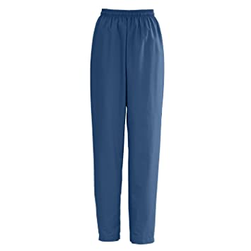 e30376eed8e Image Unavailable. Image not available for. Color: Medline AngelStat Ladies  Elastic with Draw Cord Scrub Pants ...