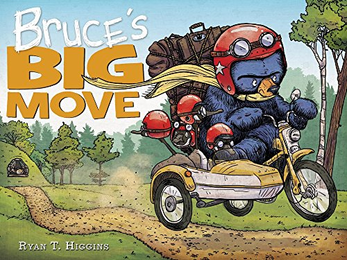 Book Cover: Bruce's Big Move