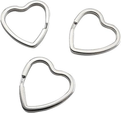 Un paquete de 5 grande plástico//acrílico Aros de estilo anillo de split