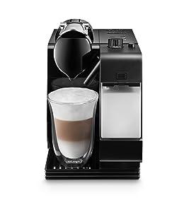 DeLonghi EN520BK Lattissima Plus Espresso Machine, Black