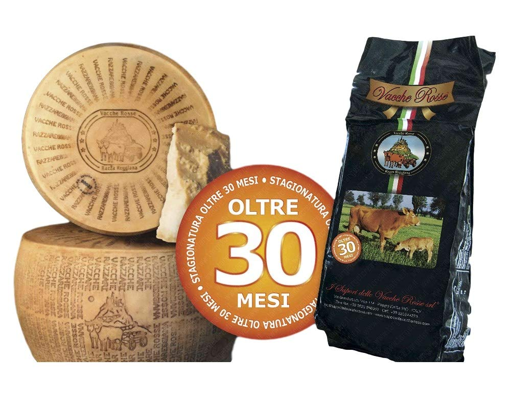 I Sapori Delle Vacche Rosse - Cheese Vacche Rosse Over 30 Months (1 kg) by YesEatIs (Image #1)