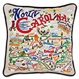 North Carolina State Pillow by Catstudio