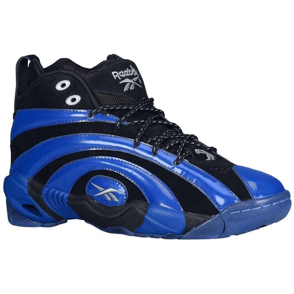 Reebok SHAQNOSIS OG Zapatos de Baloncesto Negro Azul para Hombre ...