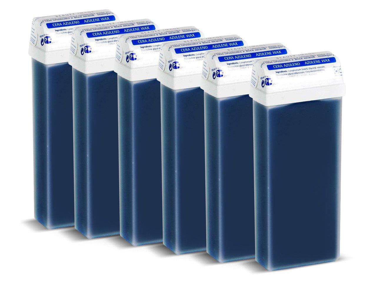 Beauty Image Azulene Warm Wax Roll On - Pack of 6 BeautyCentre 100001x6