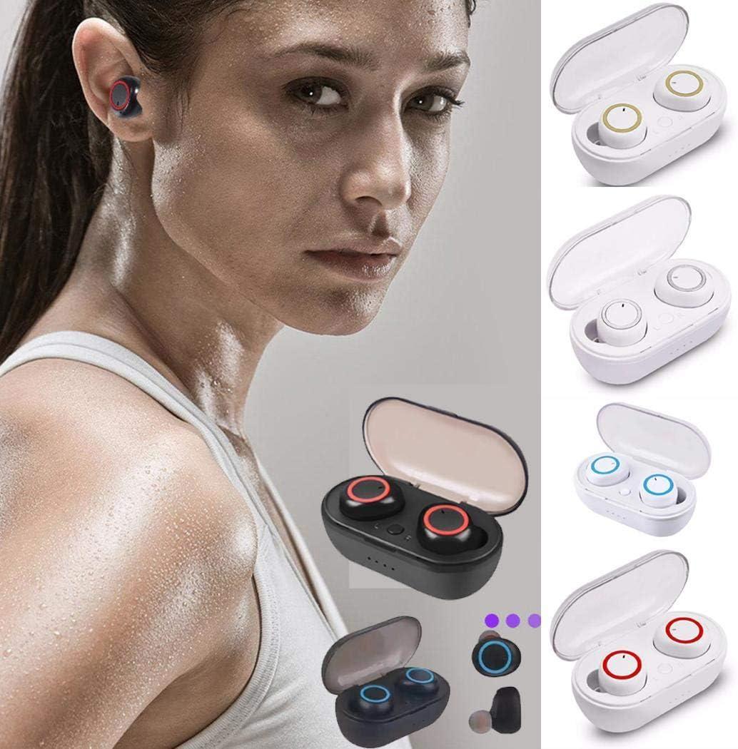 Iannan Wireless Earbuds Bluetooth Passive Noise Reduction Dual Bluetooth Earphone Earbud Headphones