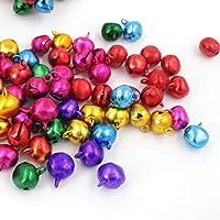 TOYANDONA 100 piezas 10 mm DIY Craft Jingle