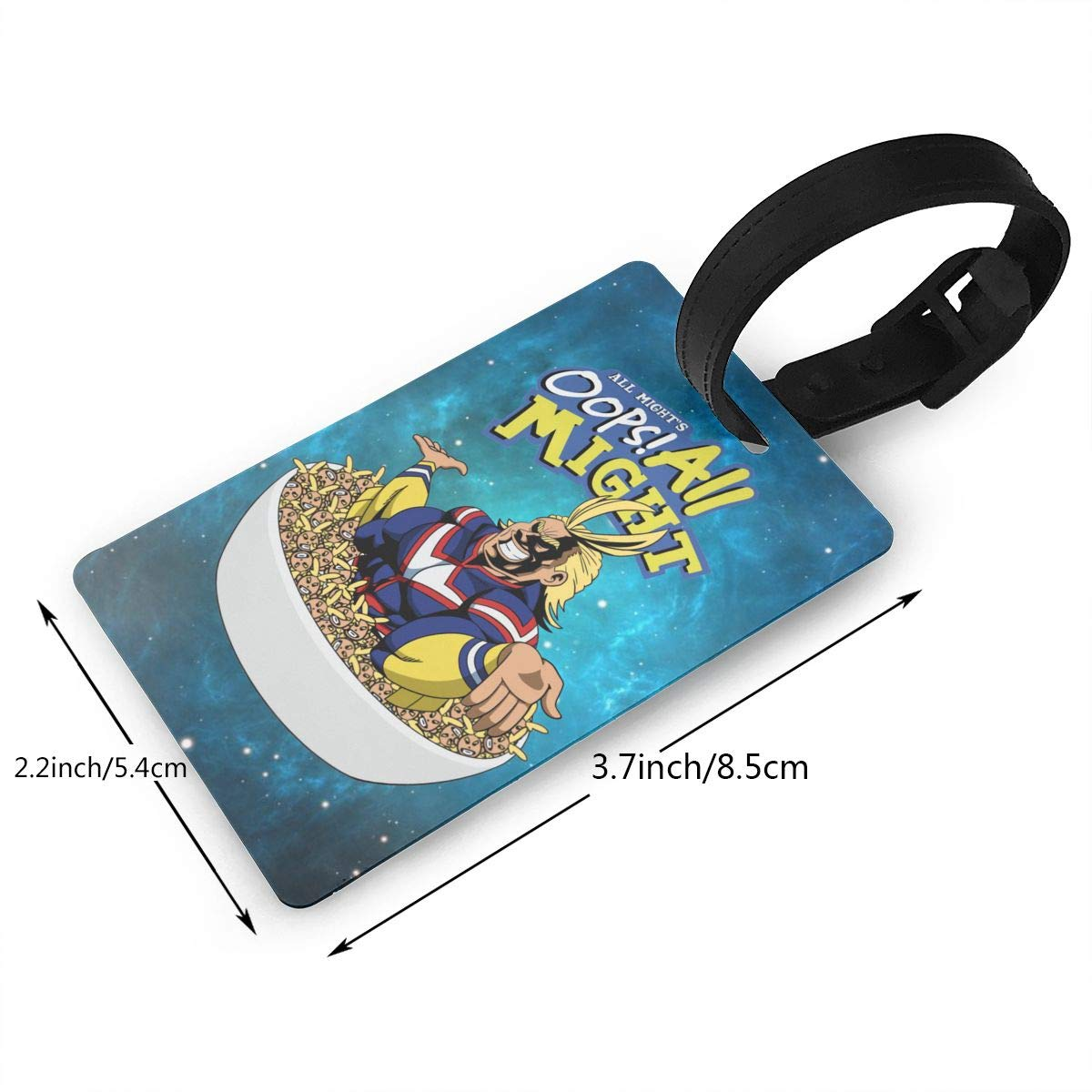 My Hero Academia Souvenir Travel Accessory Luggage ID Tag Suitcase Carry-on Baggage