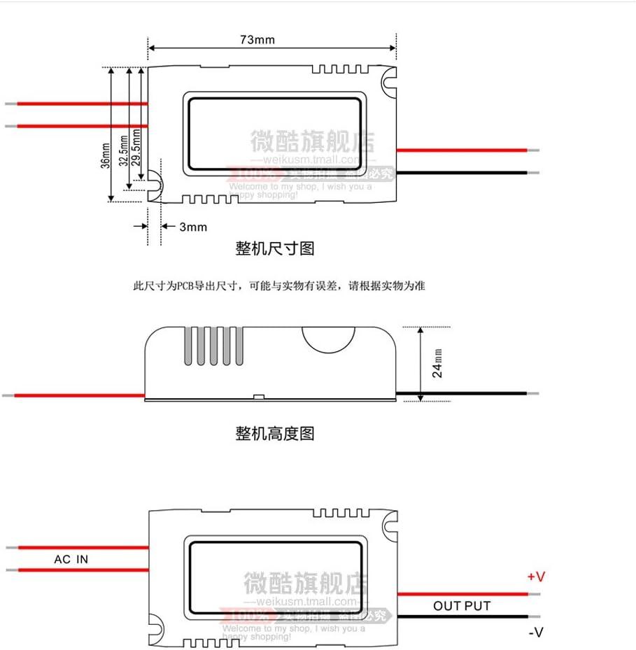 Sharplace Module De Tension Constante 5A Carte De Charge De Batterie