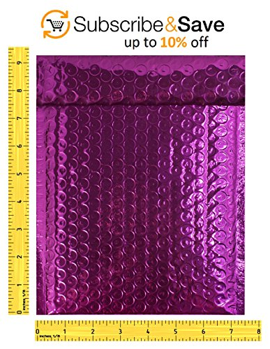 Bubble Mailers 6 5 X 9 Padded Envelopes 6 1 2 X 9 By Amiff Pack Of 20 Purple Cushion Envelopes Exterior Size 7 5 X 9 7 1 2 X 9 Peel Seal