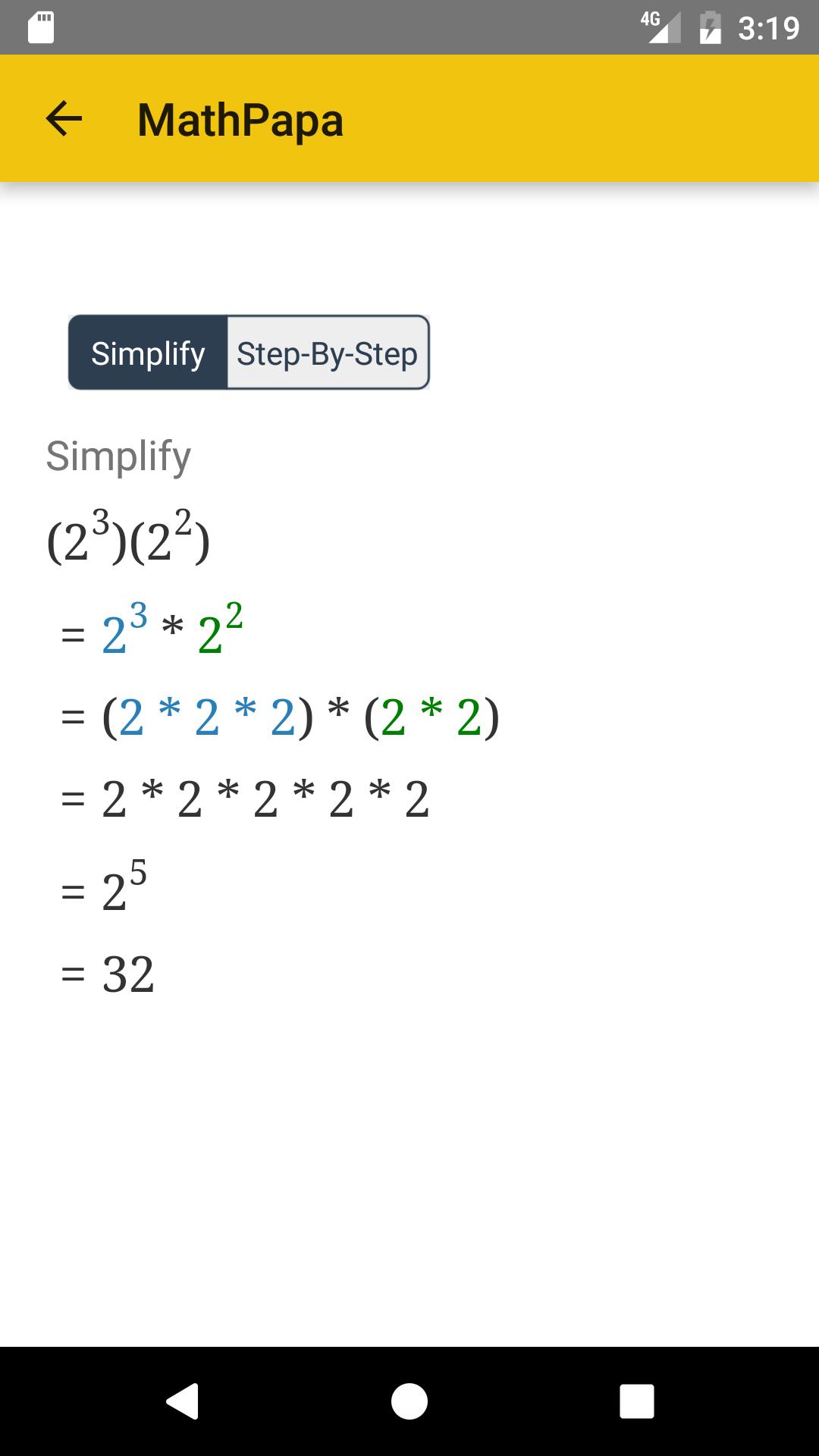 Amazon.com: MathPapa - Algebra Calculator & Equation Solver ...