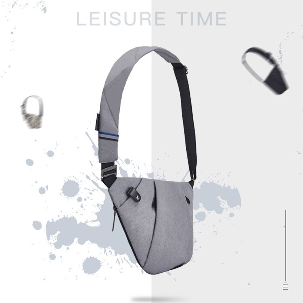 Storage bag mens chest bag slung sports pocket multi-function personal shoulder anti-theft bag