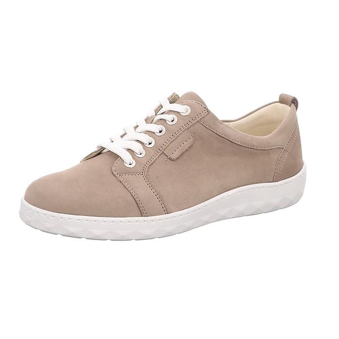Waldläufer , Chaussures de ville à lacets pour femme Beige Beige - Beige - Beige, 41.5 EU