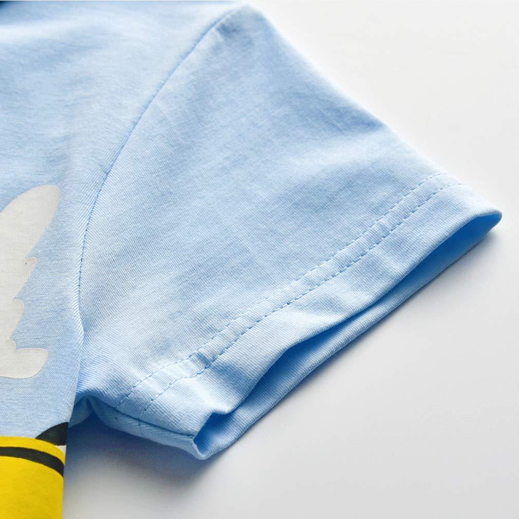 Koupa Toddler Boys Girls Cotton T-Shirt /& Shorts Clothes Sets