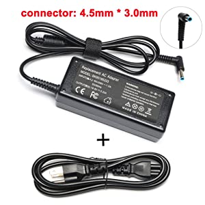 19.5V 3.33A 65W AC Adapter Laptop Charger Replacement for HP ProBook 650 G2,640 G2,450 G3,430 G3,440 G3,455 G3,470 G3, H6Y89AA PPP009C PPP012D-S PPP012L-E Power Supply Cord