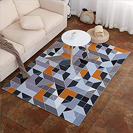 Simple geometría Personalidad Alfombra salón Cama habitación ...