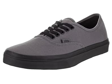VANS Authentic Pop Outsole Pewter Black Skate Shoes Unisex (3.5 men  5 women c831b5087