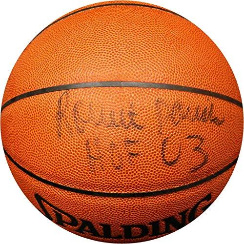 Signed Robert Parrish Basketball - Parish HOF 03 COA - Autographed Basketballs ()