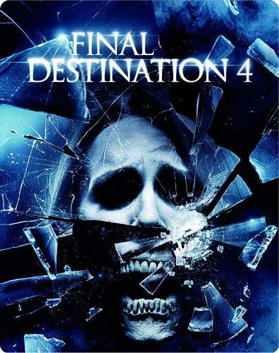 Final Destination 4 - Special Edition im Wende-Steelbook (inkl. 3D-Version des Films + vier 3-D Brillen) [Blu-ray] (Brille Film)