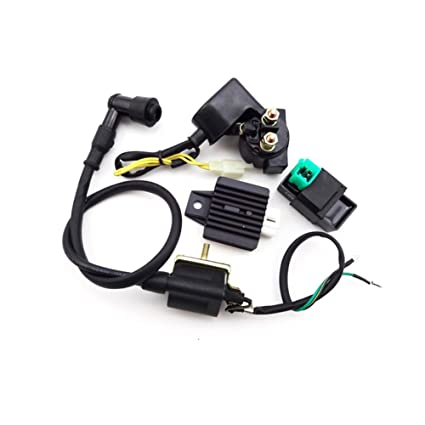 TC-Motor Ignition Coil AC CDI Box Regulator Rectifier Relay For 50cc 70cc  90cc 110cc Engine Lifan Loncin Taotao Roketa Chinese ATV Quad 4 Wheeler