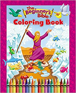 The Beginners Bible Coloring Book Zondervan 0025986759551 Amazon Books