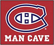 Fanmats 14448 NHL Montreal Canadiens Nylon Universal Man Cave Tailgater Rug