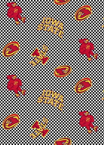 IOWA STATE COTTON FABRIC-NEWEST DESIGN WITH CHECK PATTERN