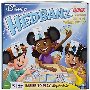 Amazon spin master games hedbanz no limits toys games spin master games disney hedbanz 2nd edition board game solutioingenieria Images