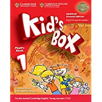 Kid's Box Level 1 Pupil's Book with My Home Booklet Updated English for Spanish Speakers Second Edition - 9788490361771