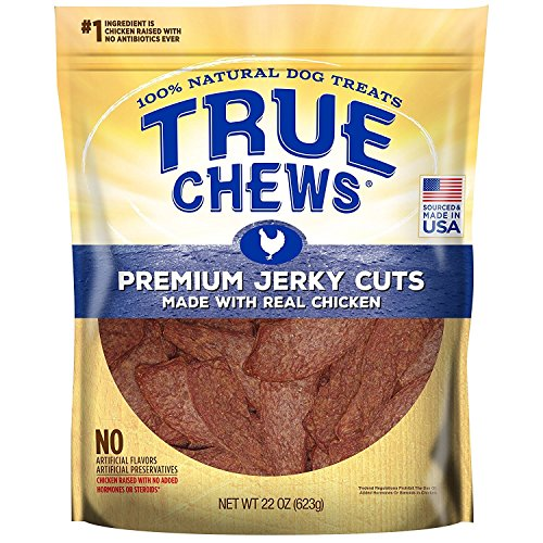 True Chews Dog Treats Premium Chicken Jerky 22oz Made in USA