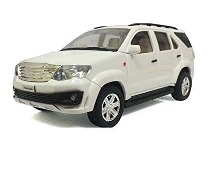 Buy The Game Begins Toyota Fortuner Miniature Car, White