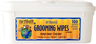 product image for Earthbath All Natural Grooming Wipes, Pack of 1, Mango Tango