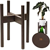 ZPirates Plant Stand for Indoor Plants - Planter Tray Included - Adjustable Size Fits 8 9 10 11 12 Inches Plant Pots…