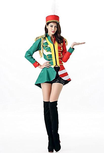 sunnorn mujeres de uniforme militar equipo de música ropa disfraz ...