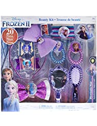 Townley Girl Disney Frozen 2 Hair Accessory Kit for Girls, Ages 3+ - 10 Pack