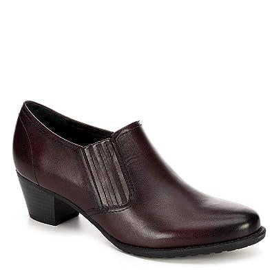 best website 37eae cd5b6 Medicus Womens Klara Slip On Leather Heeled Pump Shoes