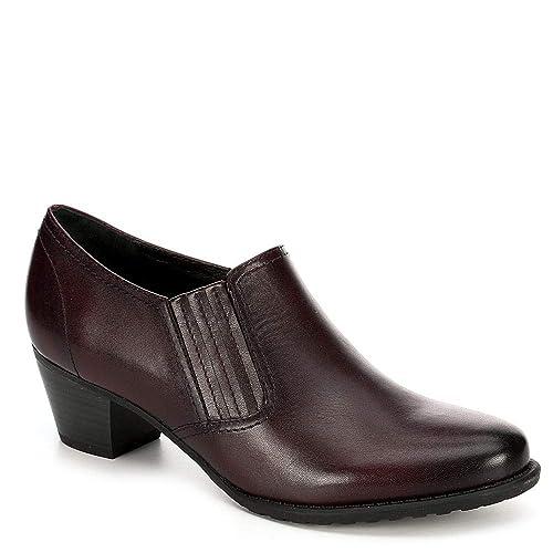 3008fbdaf3f0 Amazon.com   Medicus Womens Klara Slip On Leather Heeled Pump Shoes   Shoes