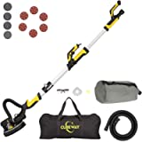 CUBEWAY Drywall Sander with Vacuum Attachment, Innovative Fixture for Ceiling Sander, Electric Drywall Sander with LED…
