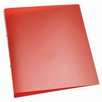 Q-Connect - Libros transparente - Anillo 25 mm de diámetro, color ...