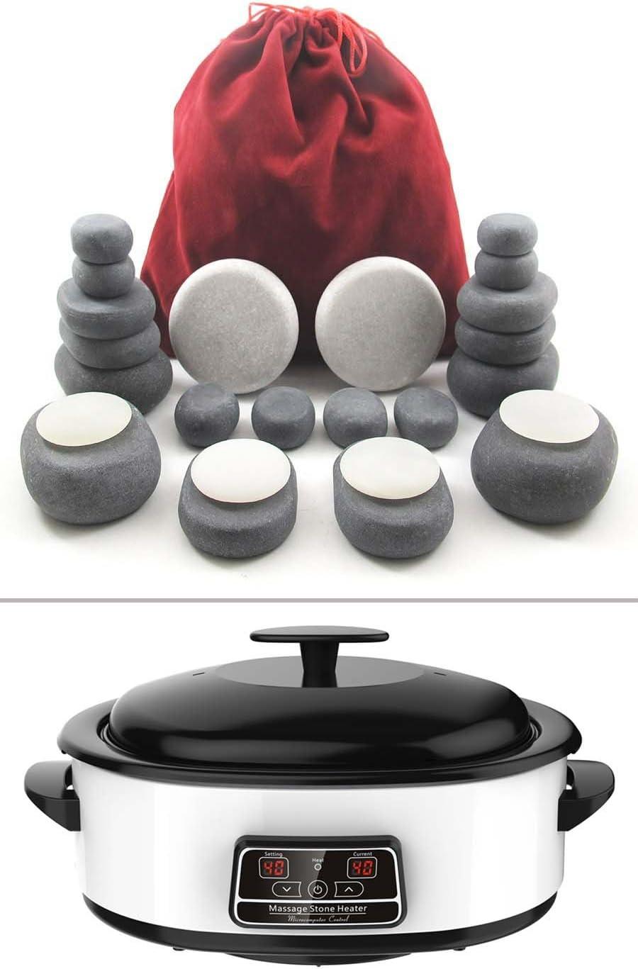 MassageMaster HOT STONE MASSAGE KIT: 31