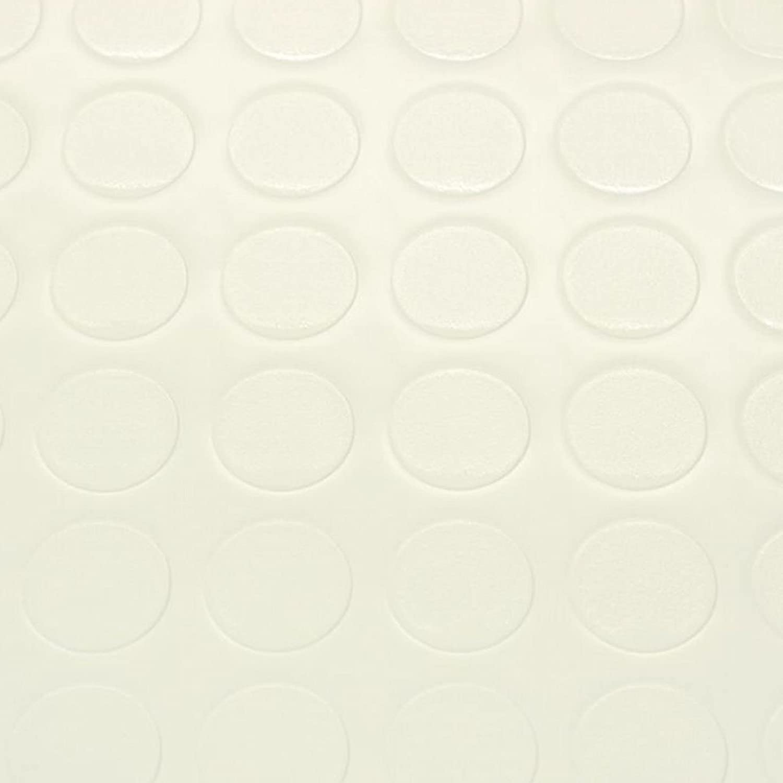 Breite: 200 cm x L/änge: 350 cm PVC Bodenbelag Noppenbelag Noppe Uni Weiss 8,90 /€ p. m/²