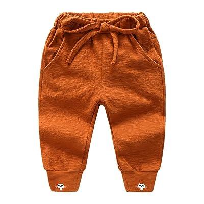 LittleSpring Little Boys Sports Pants Autumn Cotton
